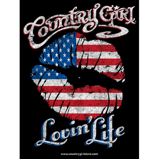 "Country Girl® Lovin' Life - 18"" x 24"" Poster"