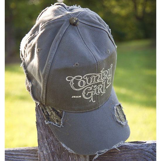 Country Girl® Logo Mossy Oak® - Frayed Cap