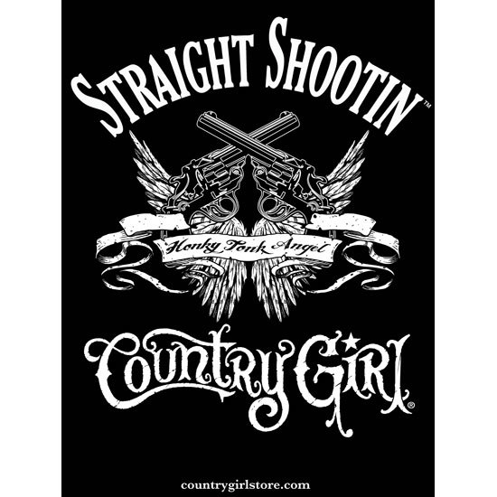 "Country Girl® Straight Shootin - 18"" x 24"" Poster"