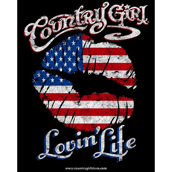 "Country Girl® Lovin' Life - 8"" x 10"" Poster"