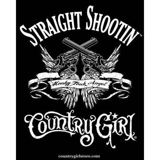 "Country Girl® Straight Shootin - 8"" x 10"" Poster"