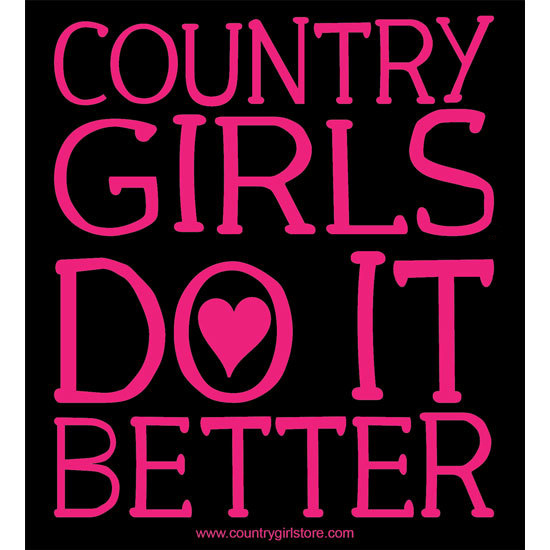 "Country Girl® Country Girls Do It Better - 5"" x 5.5"" Sticker"