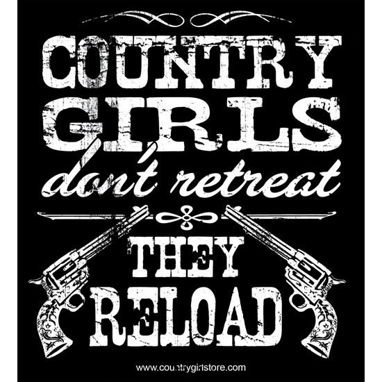 "Country Girl® Country Girls Reload - 5"" x 5.5"" Sticker"