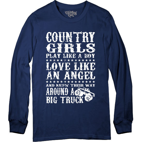 Country Girl® Big Truck - Long Sleeve Tee