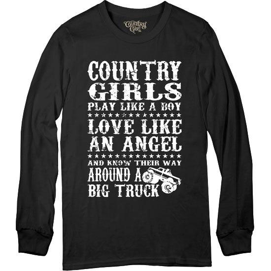 Country Girl® Big Truck - Long Sleeve Tee