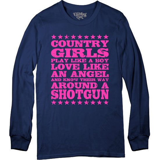 Country Girl® Shotgun - Long Sleeve Tee