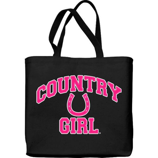 Country Girl® Athletic Horseshoe - Lightweight Tote Bag