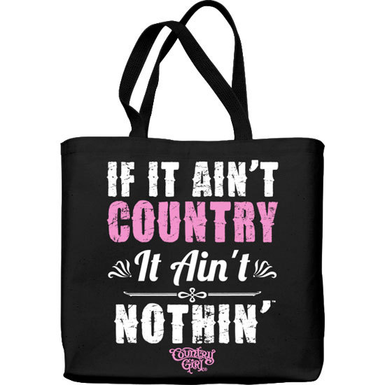 Country Girl® Ain't Country - Lightweight Tote Bag