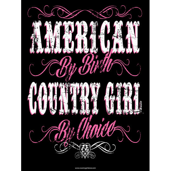 "Country Girl® By Choice - 18"" x 24"" Poster"