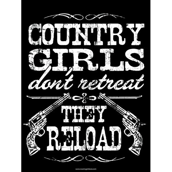 "Country Girl® Country Girls Reload - 18"" x 24"" Poster"