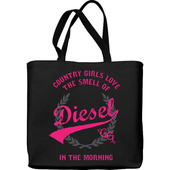 Country Girl® Smell of Diesel - Lightweight Tote Bag