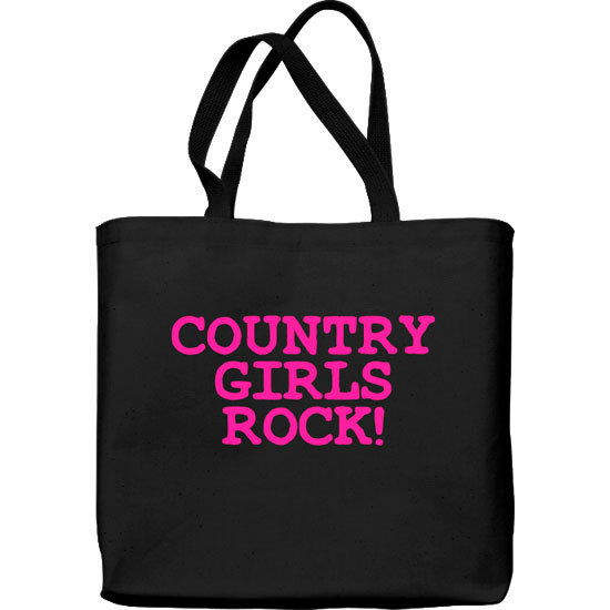 Country Girl® Country Girls Rock - Lightweight Tote Bag