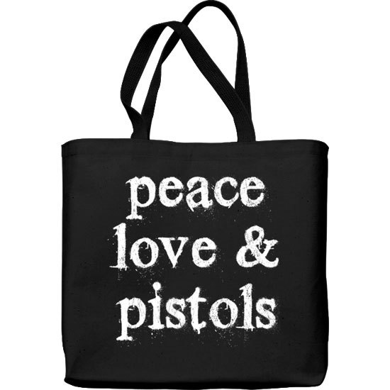 Country Girl® Peace Love Pistols - Lightweight Tote Bag