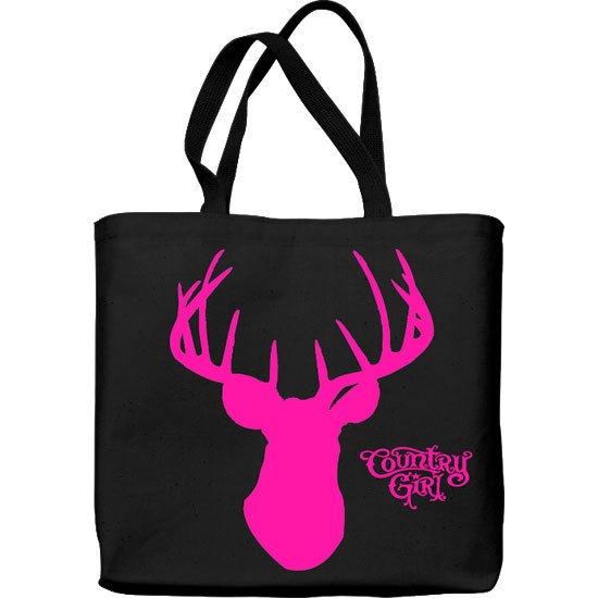 Country Girl® Deer Head - Lightweight Tote Bag