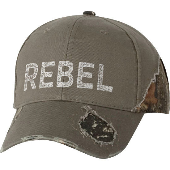Country Girl® Rebel - Frayed Camo Cap