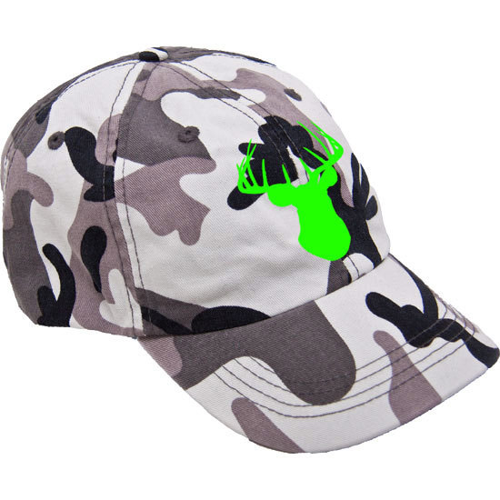 Country Girl® Deer Head - Cotton Camo Twill Cap