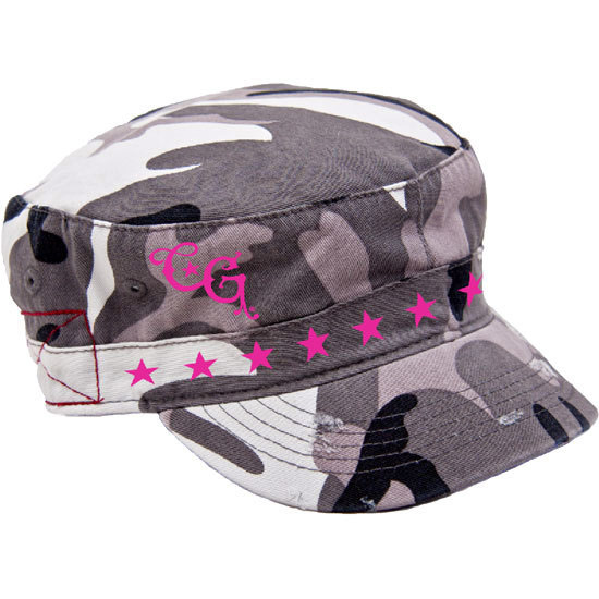 Country Girl® Stars - Destroyed Camo Fidel Cap