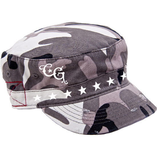 Country Girl® CG Stars - Destroyed Camo Fidel Cap