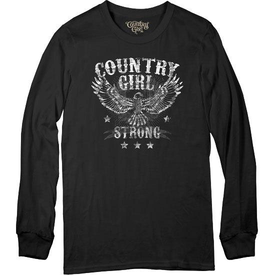 Country Girl® CG Strong - Long Sleeve Tee