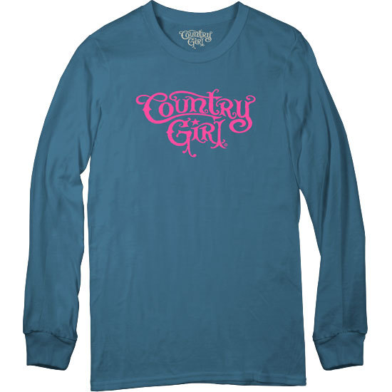 Country Girl® Logo - Long Sleeve Tee