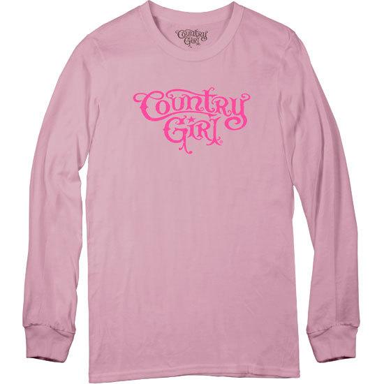 Country Girl® Logo - Long Sleeve Tee