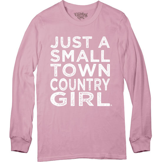 Country Girl® Small Town - Long Sleeve Tee