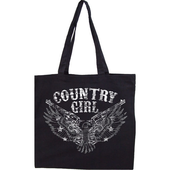 Country Girl® Distressed Pistols - Lightweight Tote Bag