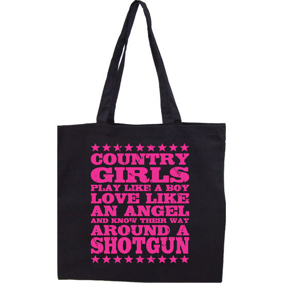 Country Girl® Country Girls Shotgun - Lightweight Tote Bag