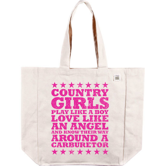 Country Girl® Carburetor - Organic Cotton Tote Bag