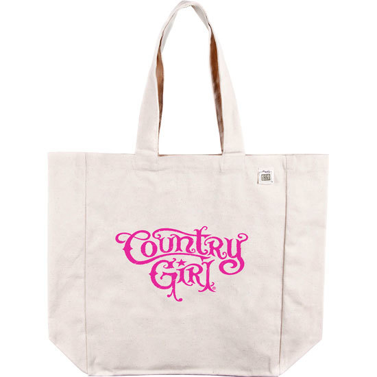 Country Girl® Logo - Organic Cotton Tote Bag