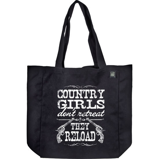Country Girl® Country Girls Reload - Organic Cotton Tote Bag