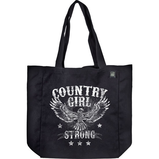Country Girl® Strong - Organic Cotton Tote Bag