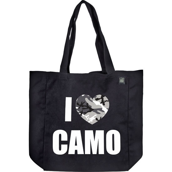 Country Girl® I Heart Camo - Organic Cotton Tote Bag
