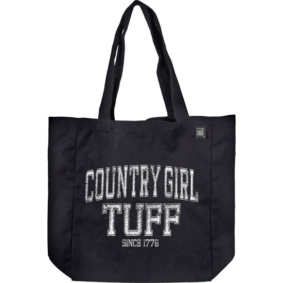 Country Girl® Tuff - Organic Cotton Tote Bag