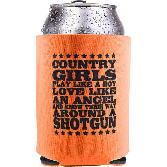 Country Girls Shotgun - Sleeve Koozie