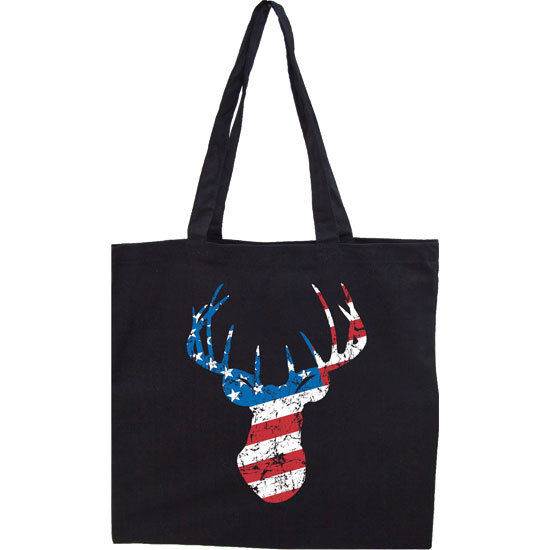 Country Girl® Deer Flag - Lightweight Tote Bag