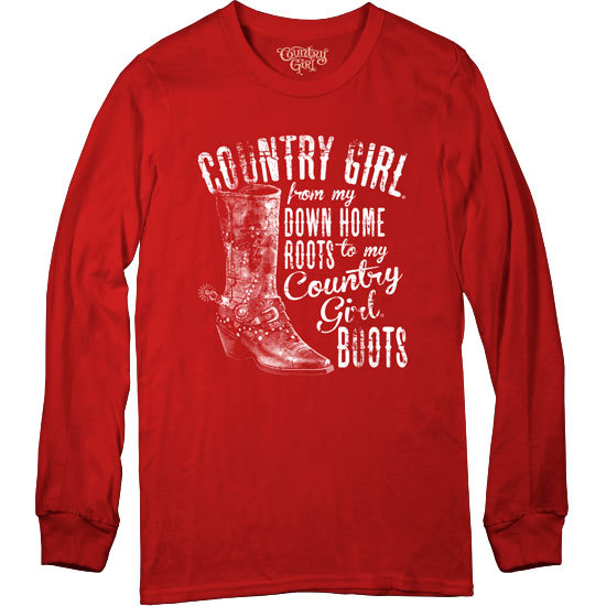 Country Girl® Country Girls Down Home Roots - Long Sleeve Tee