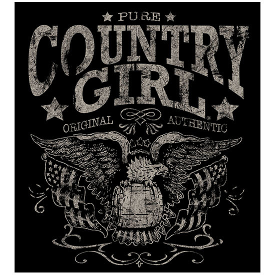 "Country Girl® Pure - 5"" x 5.5"" Sticker"