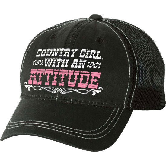 Country Girl® Attitude - Trucker Hat