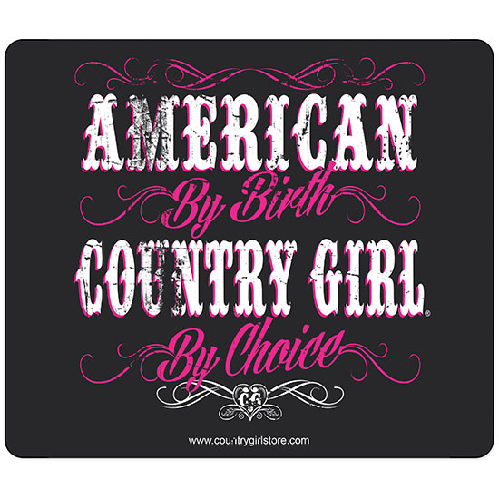 Country Girl® American by Birth - Mouse Pad