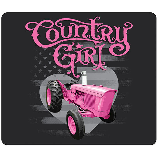 Country Girl® Country Girls Pink Tractor - Mouse Pad