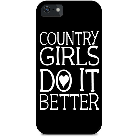 Country Girl® Bandana Background - Phone Case/Cover