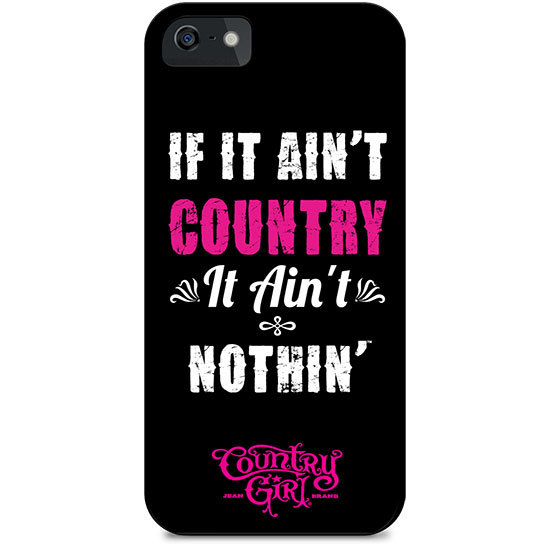Country Girl® Teal Camo Logo - Phone Case/Cover