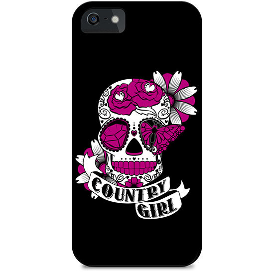 Country Girl® Pink Cross Guns - Phone Case/Cover