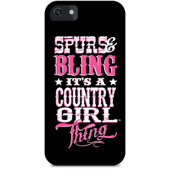 Country Girl® Pink Camo Logo - Phone Case/Cover