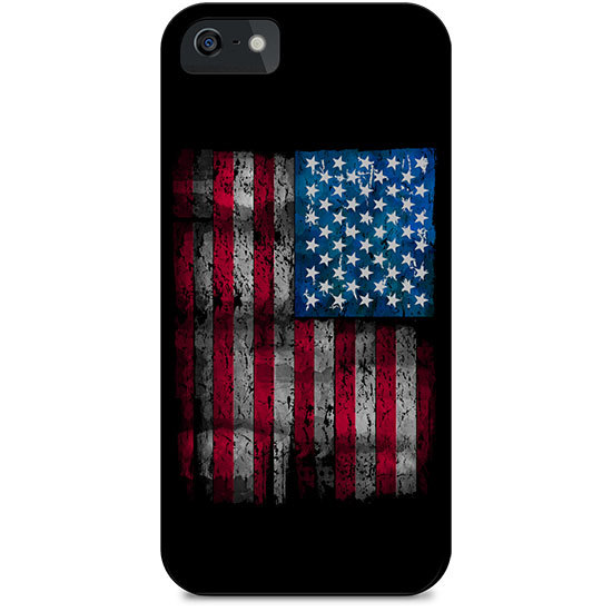 Country Girl® Distressed Flag on White - Phone Case/Cover