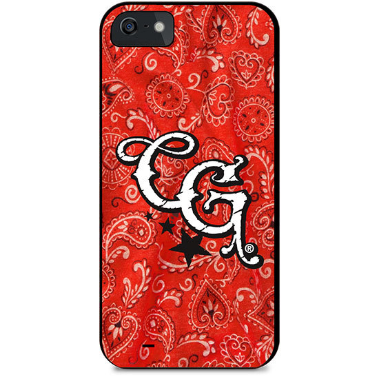 Country Girl® Hot Pink Wings on Black - Phone Case/Cover