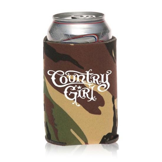 Country Girl® Logo Camo - Sleeve Koozie