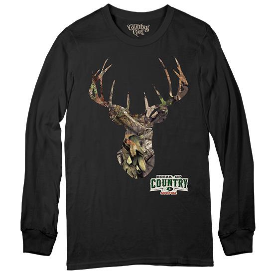 Country Girl® Mossy Oak® Deer Break-Up Country Long Sleeve - Long Sleeve Tee