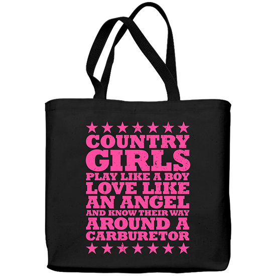 Country Girl® Carburetor - Lightweight Tote Bag